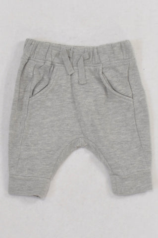 Next Basic Grey Harem Pants Boys N-B