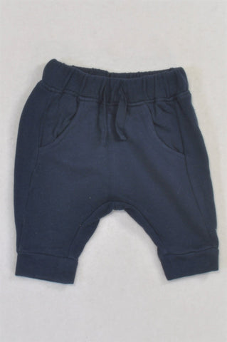 Next Basic Navy Harem Pants Boys N-B