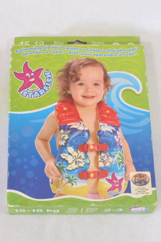 Just Fun Toys Tropical Star Fish Swimming Aid Accessory Unisex 2-3 years