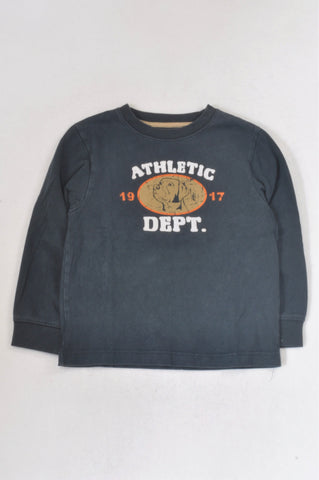 Gymboree Navy Athletic Dept Top Boys 4-5 years