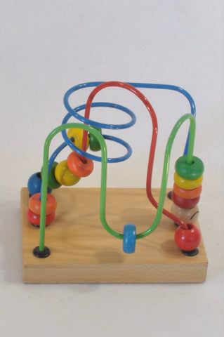 Wire Bead Puzzle Unisex 2-6 years