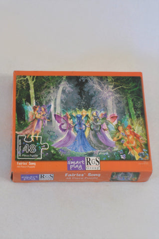 Smart Play 48 Piece Orange Fairy Puzzle Girls 2-6 years