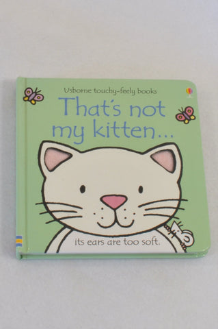That's Not My Kitten Book Unisex 1-3 years