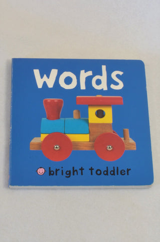 Bright Toddler Words Book Unisex 6 months to 3 years