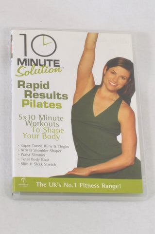 10 Minute Solutions Rapid Results Pilates DVD Maternity Accessory One Size