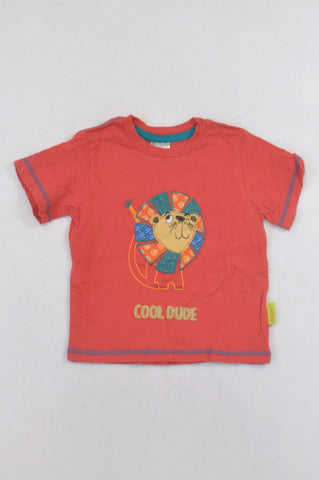 Hooligans Red Lion T-shirt Boys 2-3 years