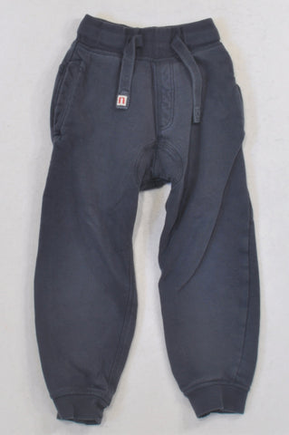 Next Basic Navy Track Pants Boys 3-4 years