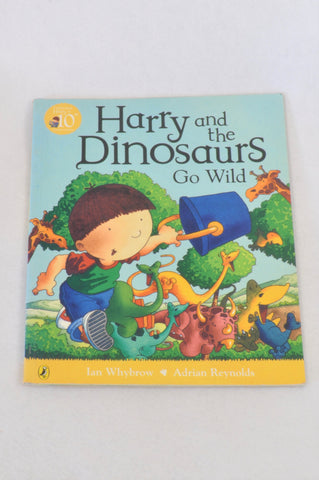 Harry And The Dinosaurs Go Wild Book Unisex 3-7 years