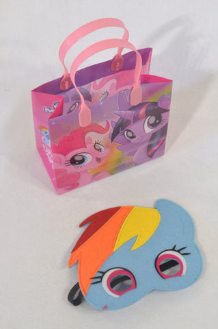 My Little Pony Bag & Rainbow Dash Mask Toy Girls 3-10 years