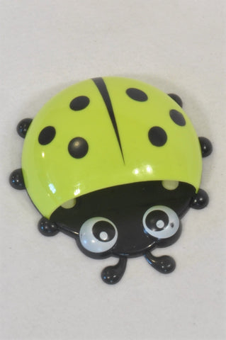 New Green Ladybug Toothbrush Holder Accessory Unisex All Ages