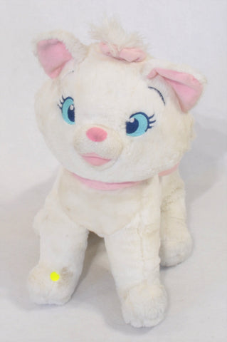 Disney White Marie Kitten Soft Toy Girls All Ages