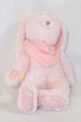 Pink Bandana Bunny Soft Toy Girls All Ages