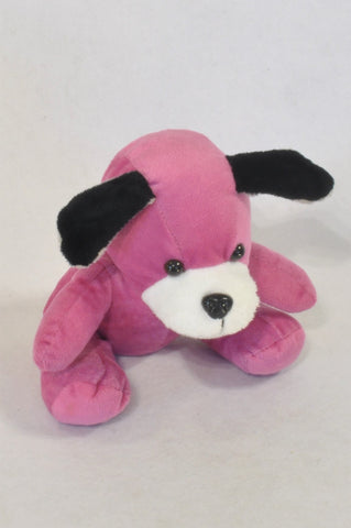 Purple Puppy Soft Toy Girls All Ages