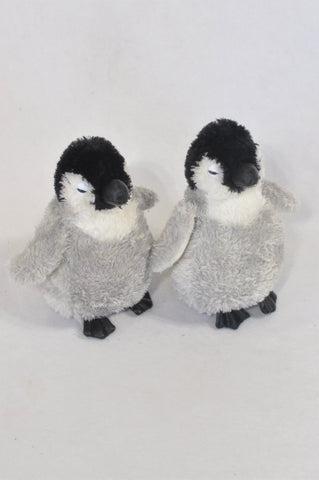 2 Pack Penguin Plush Toys  Unisex All Ages