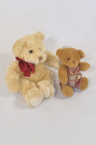 2 Pack Bear Bundle Plush Toys  Unisex All Ages