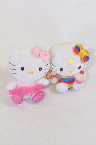 Musica 2 Pack Hello Kitty Plush Toys  Girls All Ages