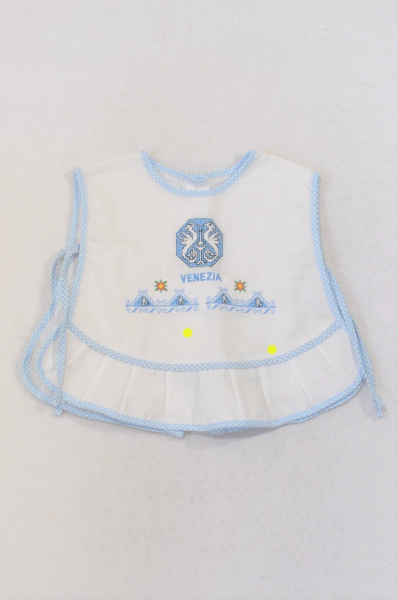 Blue Embroidered Venesia Blouse Girls 3-6 months