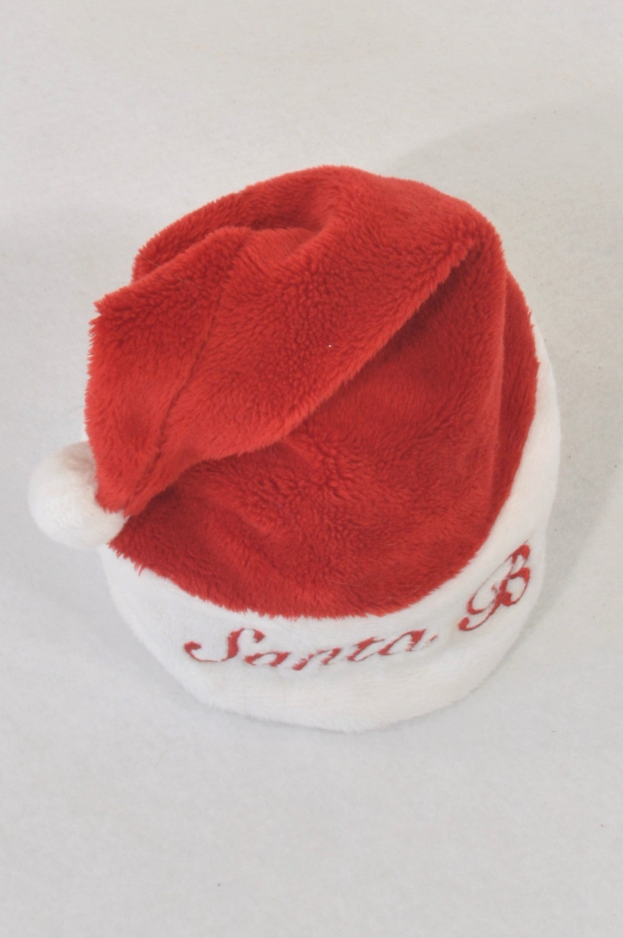 Red & White Fleece Santa Hat Unisex N-B