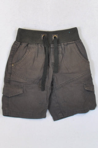 Pick 'n Pay Basic Olive Cargo Shorts Boys 5-6 years