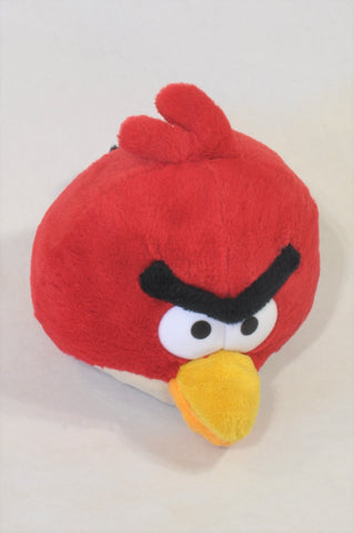 Red Angry Bird Plush Toy Unisex All Ages
