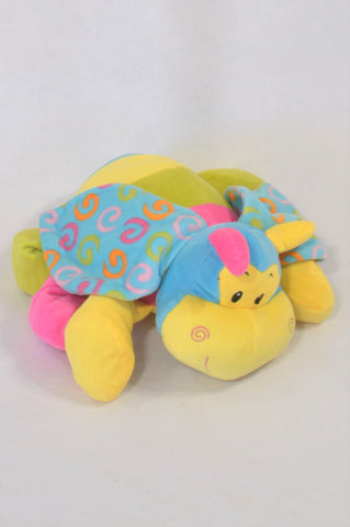 Multi Color Flying Hippo Plush Toy Girls All Ages