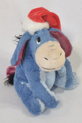 Purple Christmas Eeyore Plush Toy Boys All Ages