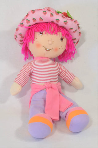 Pink strawberry Shortcake Doll Toy Girls All Ages