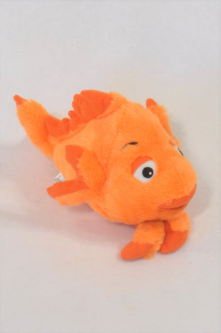 Orange Fish Plush Toy Girls All Ages