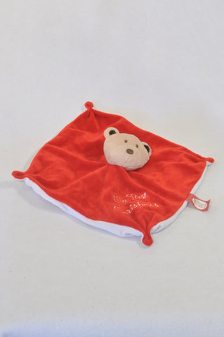 Baby Hugs My First Christmas Bear Soother Unisex N-B to 2 years