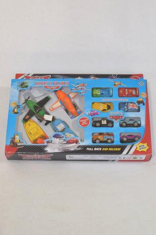 New Boats & Planes Pull Back & Release Toys  Boys 3-10 years