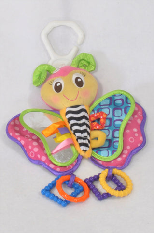 Playgro Big Butterfly Sensory Toy Girls N-B to 1 year