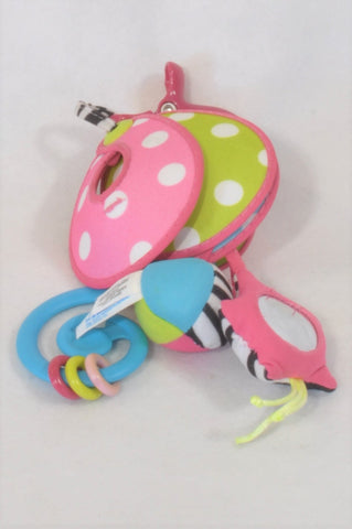 Tiny Love Pink Wind Chime Bell Toy Girls N-B to 6 months