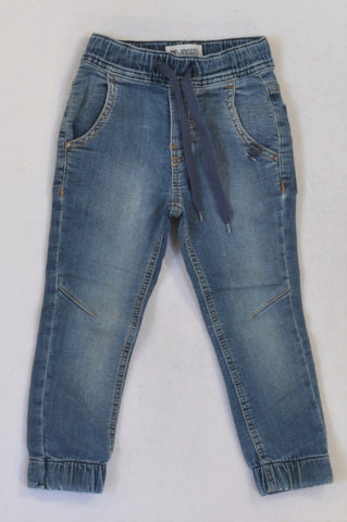 Woolworths Stone Washed Cuffed Jeans Girls 2-3 years
