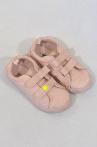 Woolworths Size 7 Pink Velcro Shoes Girls 2-3 years