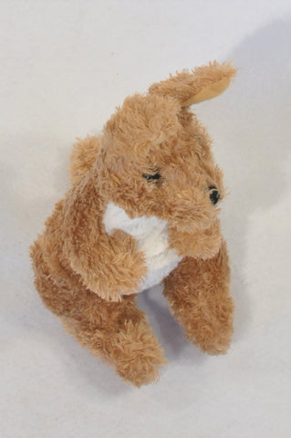 Brown Kangaroo Plush Toy Unisex All Ages