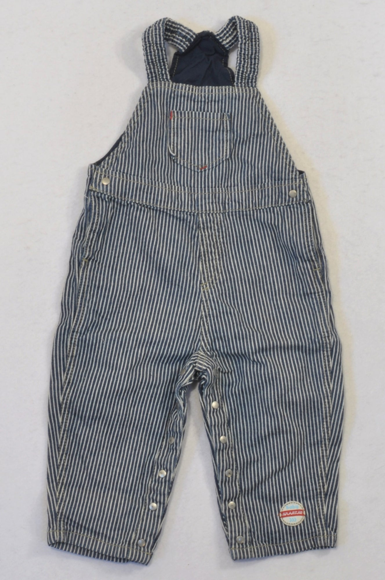 13a1f16bfcc0 Naartjie Denim Pinstripe Dungarees Boys 12-18 months – Once More