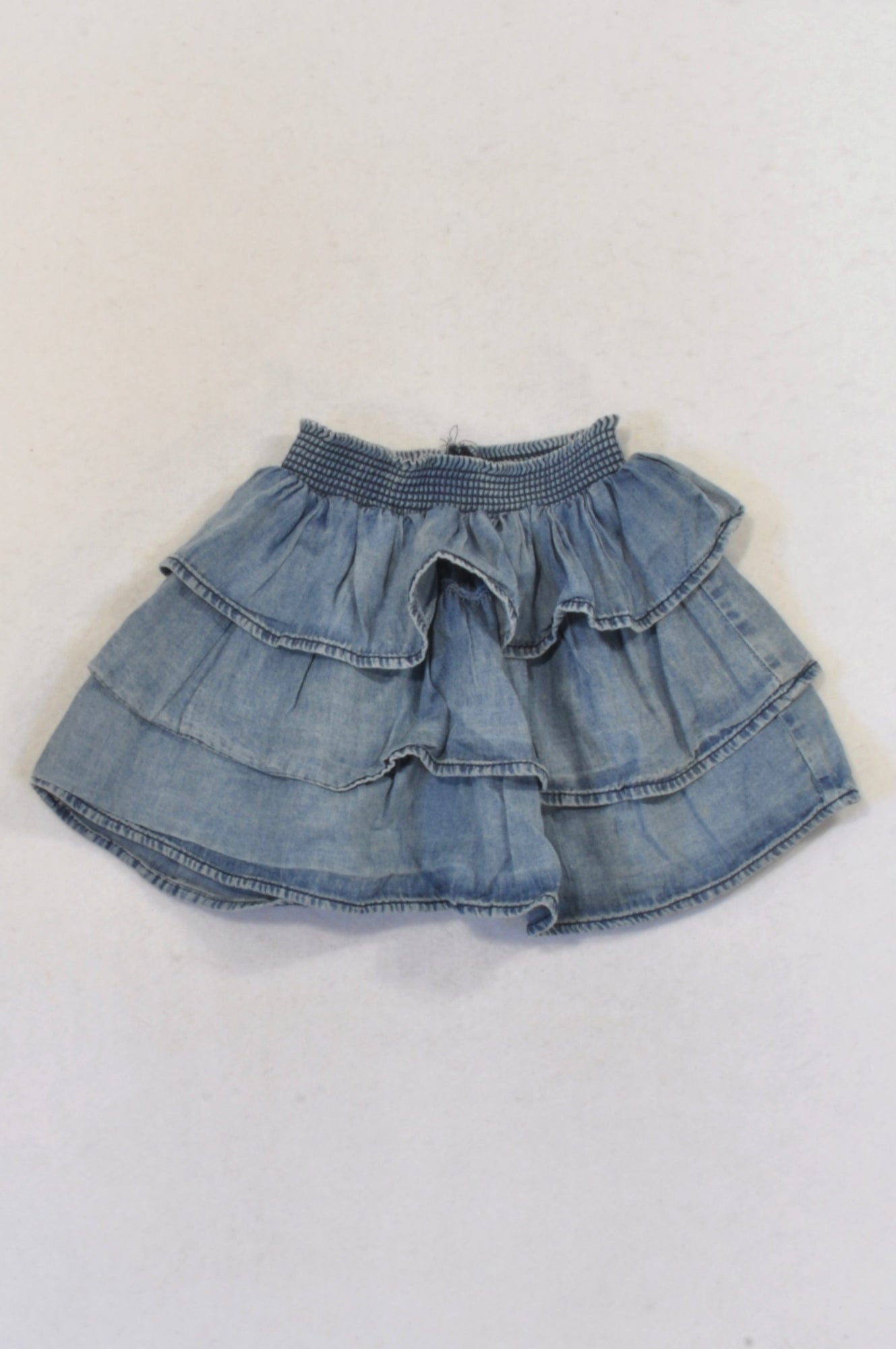 KDS Chambray Layer Skirt Girls 3-4 years