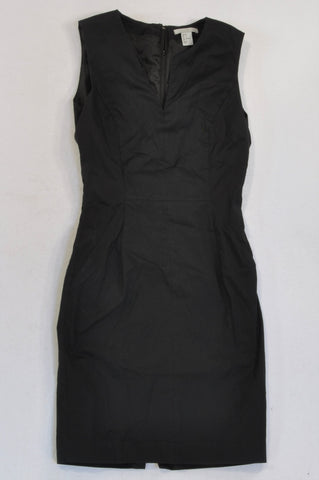 H&M Basic Black Formal Dress Women Size 6