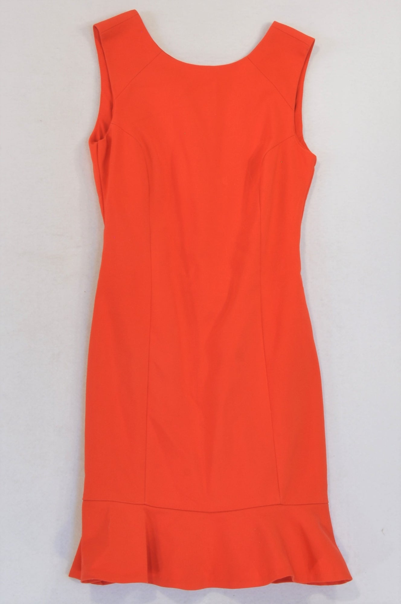 Zara Red Flare Trim Cocktail Dress Women Size 6
