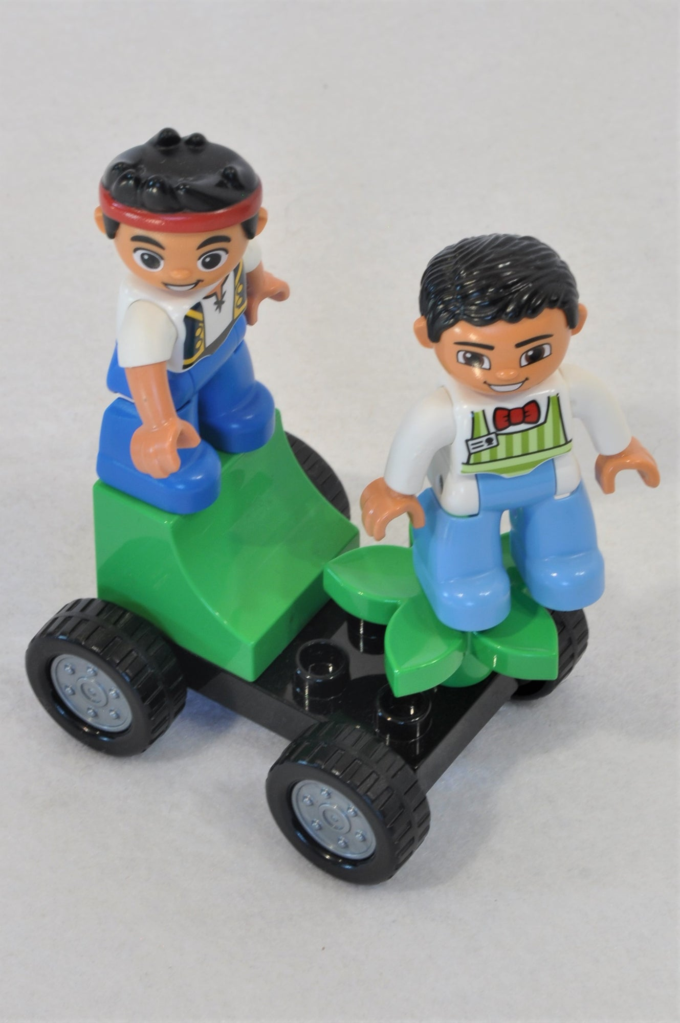 Unbranded Green Car Pirate Lego Toy Unisex 2-6 years