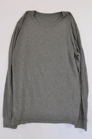 Woolworths Grey Lightweight T-shirt Unisex 14-15 years