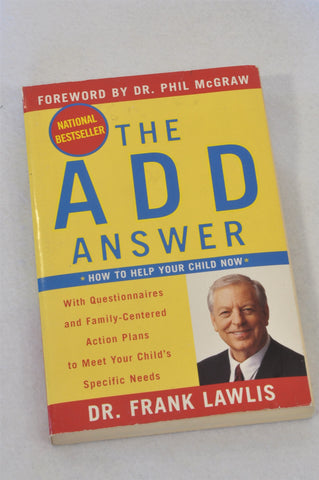 Unbranded The ADD Answer Parenting Book Unisex