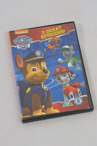 Nickelodeon 3 Episode Paw Patrol Kids DVD Unisex All Ages
