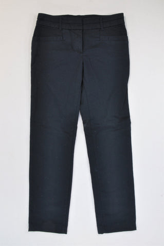 Woolworths Navy Chino Pants Women Size 32