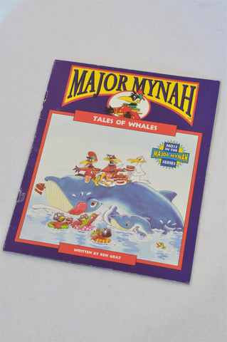 Major Mynah Tales Of Whales Book Unisex 2-6 years
