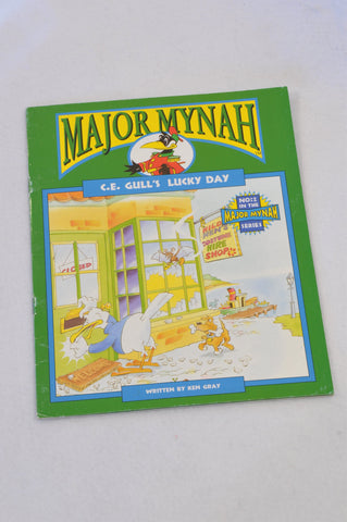 Major Mynah C.E Gull's Lucky Day Book Unisex 2-6 years