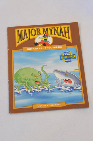 Major Mynah Custard Has A Toothache Book Unisex 2-6 years