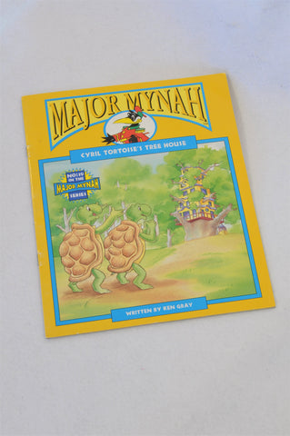 Major Mynah Cyril Tortoise's Tree House Book Unisex 2-6 years