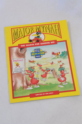 Major Mynah The Search For Queenie Bee Book Unisex 2-6 years