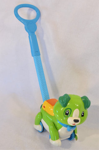 Leap Frog Green Step & Sing Scout Puppy Toy Unisex 6 months to 2 years